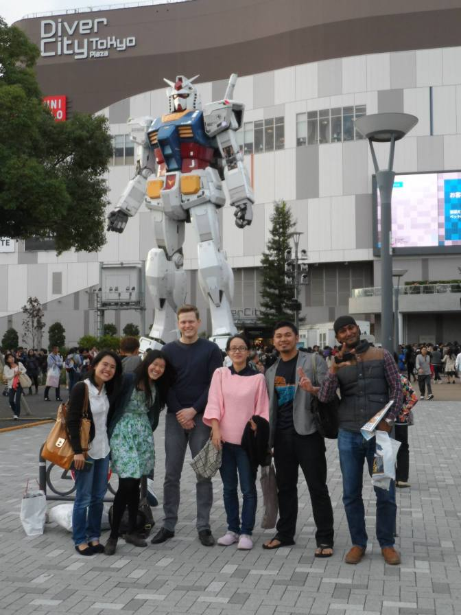 Odaiba Trip November 2014 – Karaoke, Food and Kim's Birthday