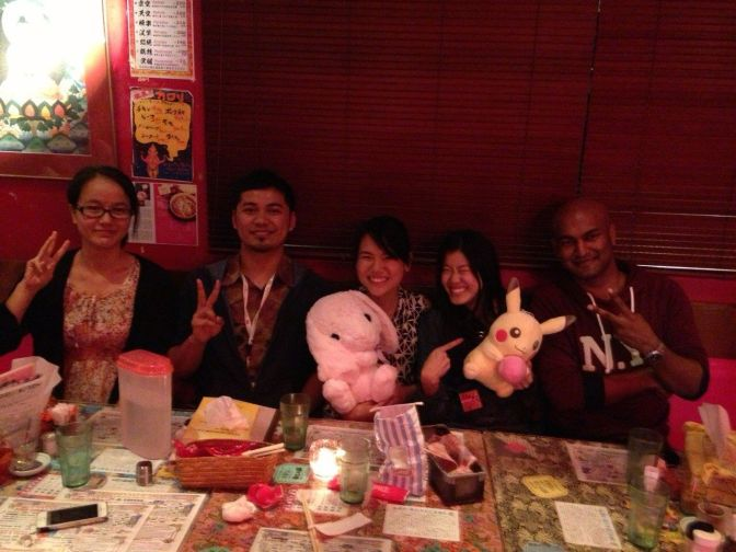 GPES Soup Curry Meeting (October 2014)